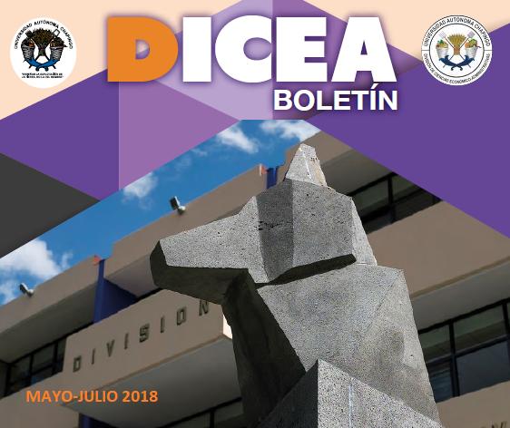 Boletín DICEA mayo-julio 2018