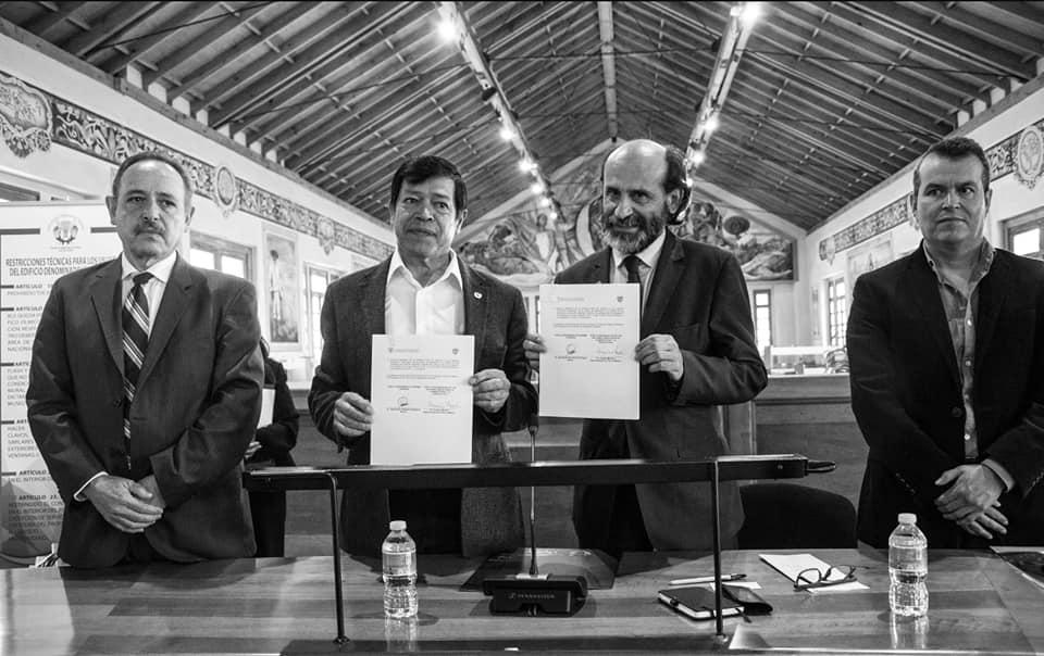 Firma carta intención la FAO y Chapingo