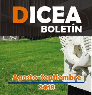 Boletín DICEA agosto-septiembre 2018