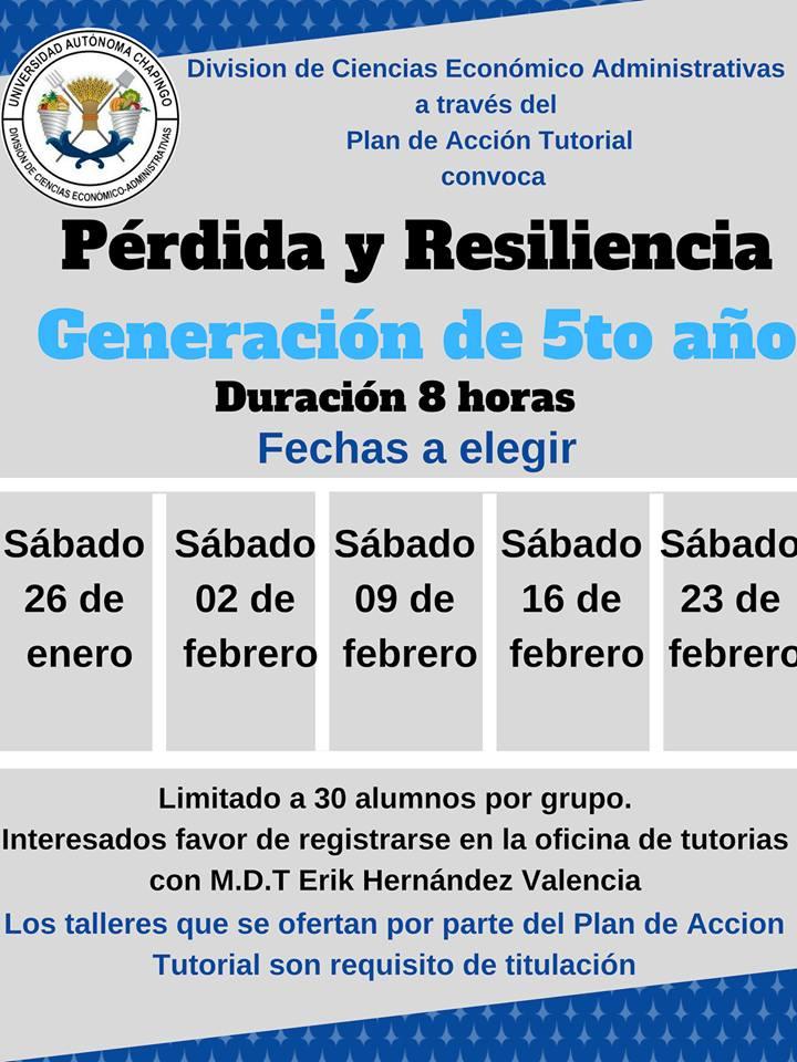 Pérdida y Resiliencia Generación 5to año