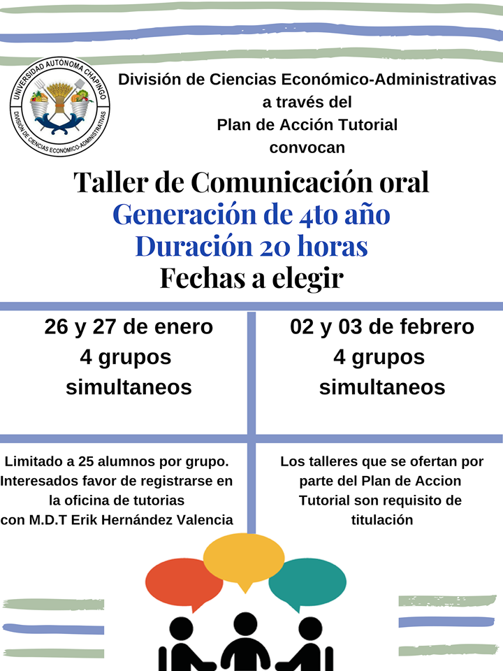 Taller de Comunicación Oral