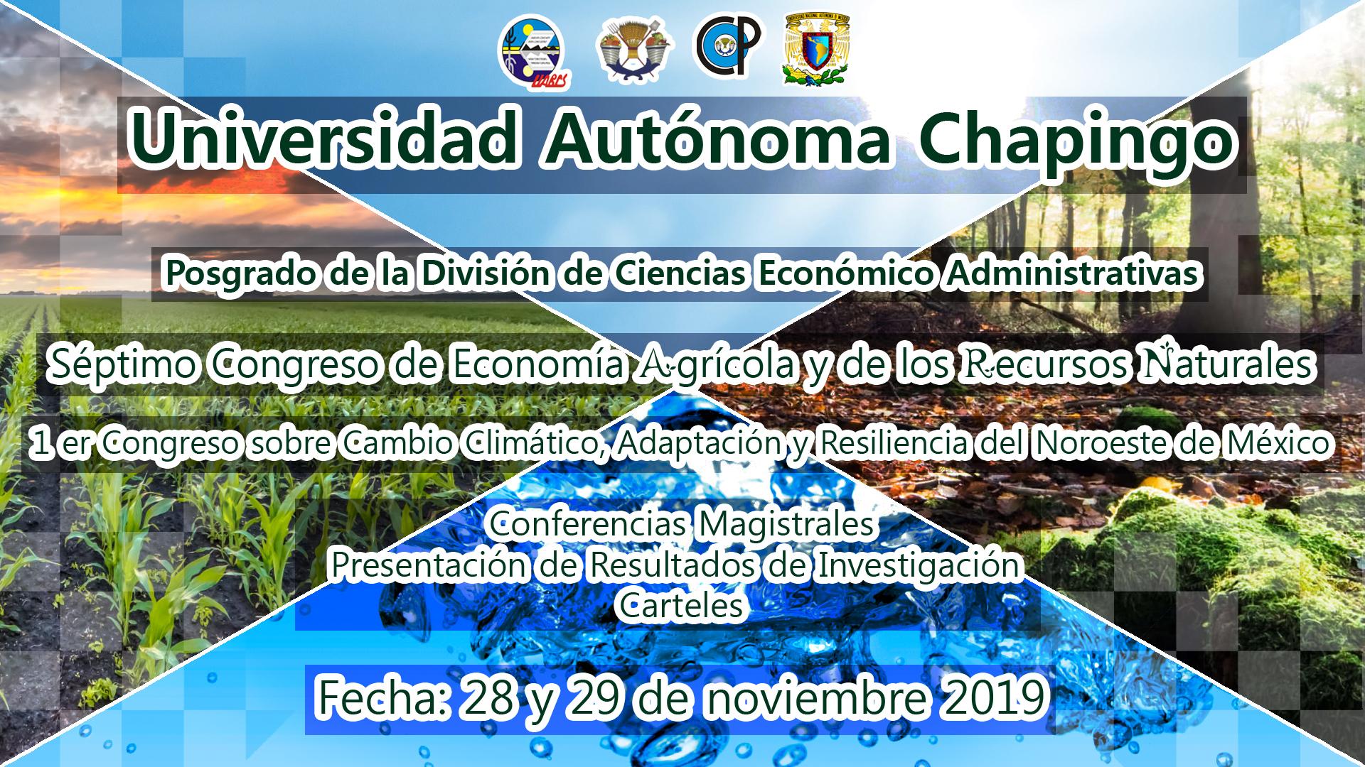 7° Congreso de Economía Agrícola y de los Recursos Naturales