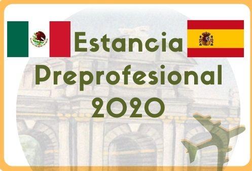 Convocatoria para Estancias Preprofesional en Barcelona