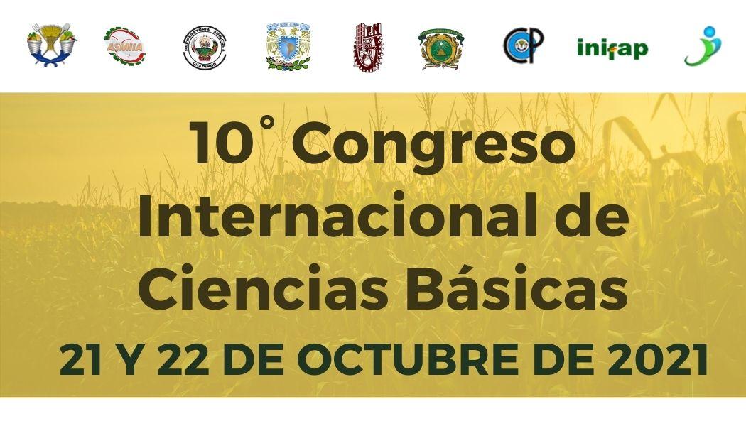 10° Congreso Internacional de Investigación en Ciencias Básicas
